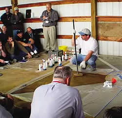 Decorative Concrete System's annual training event in March dew contractor's from all over the Northwest and proved to be an incredible opportunity for those who attended.