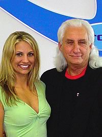 The owners of Super Krete products, father and daughter Tracey and John Howitz