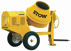 This STOW portable mixer is a great option for a trailered mixer.