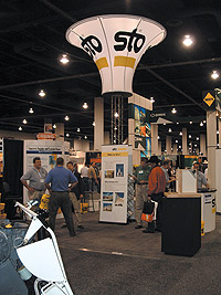 Sto concrete exhibit at the World of Concrete 2005