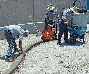 Decorative Curbing Concrete Decor