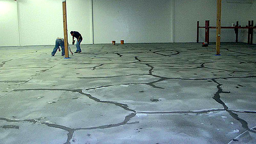 Concrete Cracks Most overlay experts agree that the most common crack-inducing culprit is the substrate, and there can be multiple factors involved. Expansion joints in the underlying slab that are not honored will telegraph through an overlay
