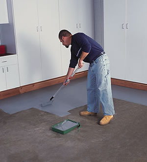 Opaque epoxy coatings for concrete floors concrete decor for Indoor concrete cleaner