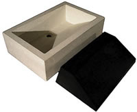Gore Concrete Countertop Sink Mold - Gore sells two sink molds right now. The Columbia Sink Mold lets water cascade down the sloped front of a design that was inspired by the deep gorges of British Columbia