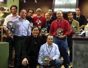 Cheng Design Award Winners 2006 in the second annual Members Circle of Distinction Design Challenge at the World of Concrete.