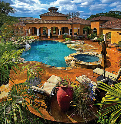 Jump In Perfecting The Decorative Concrete Pool Deck