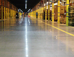 A Concrete Floor is a Renewable Resource - Carbonization occurs during the curing process when the new concrete is exposed to excess carbon dioxide exhaust from propane-powered heaters and construction equipment.
