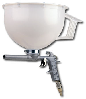 Pneumatic Chip-broadcast Hopper Gun