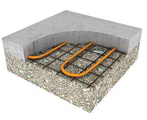 The Comfort Of Radiant Heat In Concrete Concrete Decor