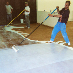 Applying Concrete Sealer - Two other serious problems are underapplication and overapplication of the sealer. Under applying is the less serious of the two.