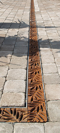 Designer Cast Iron Drain Covers From Iron Age Designs