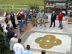 Decorative Concrete Training hands across the ocean: international decorative concrete training