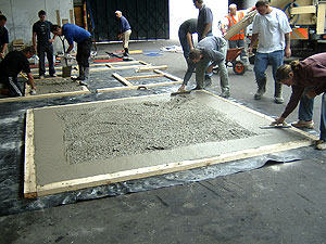 hands across the ocean: international decorative concrete training