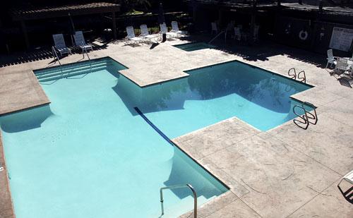 Resurfacing A Failing Pool Deck Concrete Decor