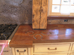 Now That Their First Wooden Concrete Countertop Project Is Complete J M Busy