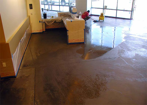 Stripping Concrete Mechanical Or Chemical Concrete Decor
