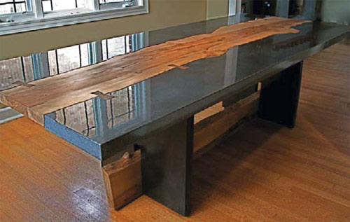 Best of Show: Keelin Kennedy, Barefoot Design, Chicago, Ill. Dining room table for 10