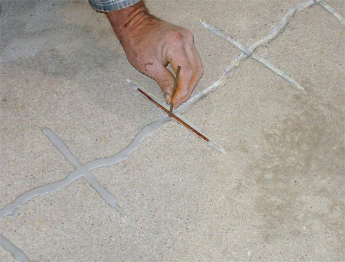 What To Do When Decorative Concrete Cracks