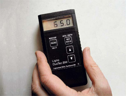 Handheld Meters Show Moisture at a Glance