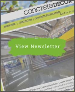 April 22, 2020 - Newsletter