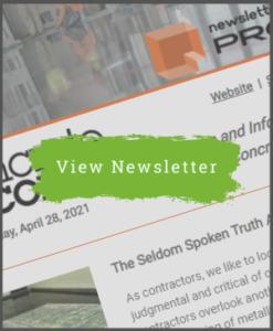 April 28, 2021 - Concrete Decor Newsletter