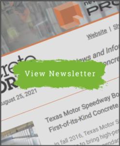 Concrete Decor Newsletter - August 25, 2021