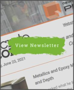 June 23, 2021 - Concrete Decor Newsletter