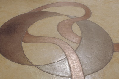 How to use metal resin to make your decorative concrete shine.