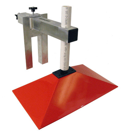 A drain jig made made by Infinicrete.