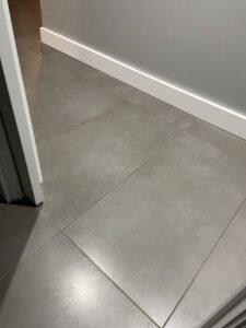 Tile Floor in a hallway