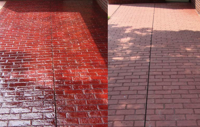 Rztore (pronounced restore) is a fast, efficient system that revives old stamped concrete and return it to foot traffic in as little as eight hours.