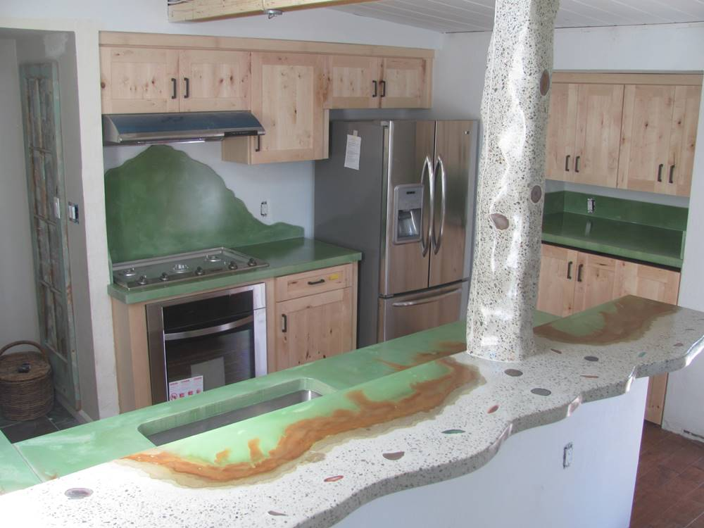 Hydro Guard has been around for years, but is a great way to seal countertops because of its desirable properties of stain resistance and thinness.