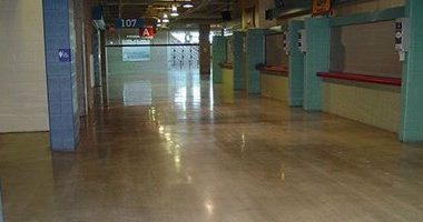 The Alamodome in San Antonio Installs Polished Concrete