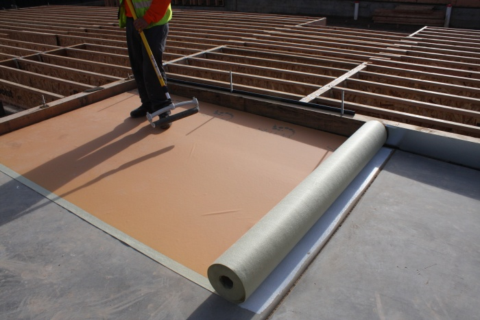 Skudo floor protection helps to protect your concrete work surface on the job site
