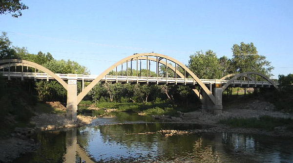 Bridge Restoration Creamery Bridge, Osawatomie, Kan. Miami County, Kan., PCI Roads. Pfefferkorn Design & Construction, Geiger Ready-Mix Co. Inc., H.W. Lochner