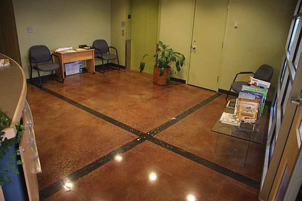 Decorative concrete by Jim Vermillion - Concrete Decor