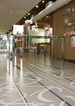 Hudson Concrete - Polished Concrete Showroom Floor, NYC