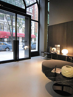 Hudson Concrete - Polished Concrete Retail Store Floor, NYC