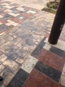 questions about how to strip sealers from stamped concrete