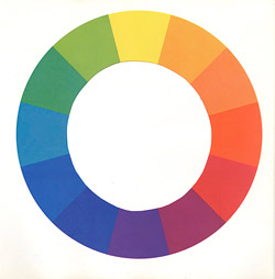 make your own color wheel instructions for concrete staining, dyeing, epoxy, or coloring concrete.