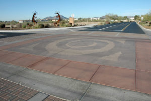 success with integrally colored concrete