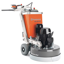 Husqvarna PG 680 RC floor grinder - Husqvarna (www.husqvarna.com/us/construction/home/) just released the PG 680 RC, a remote-controlled concrete floor grinder with oscillation control.