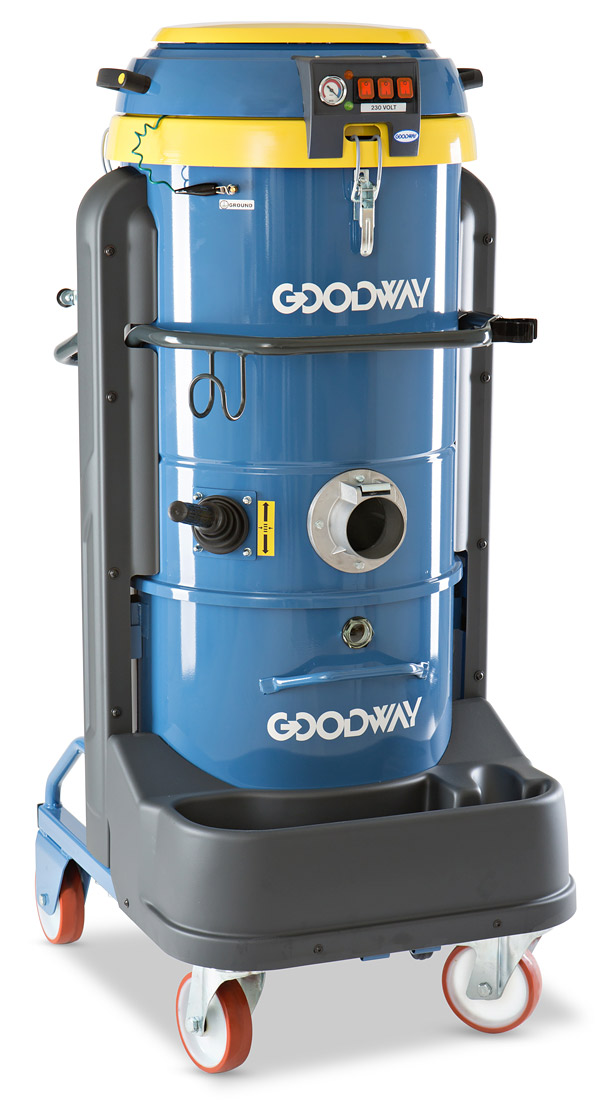 Goodway DV E3 vacuum with large filter