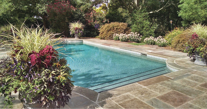 How to seal a stamped concrete pool deck to for long-lasting protection.