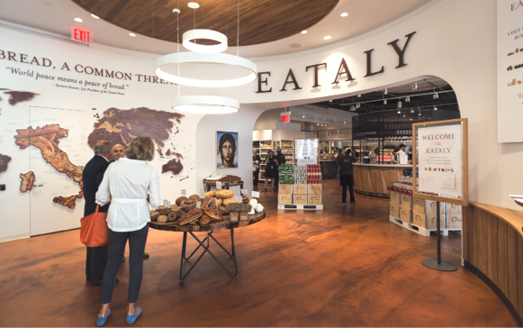 Eataly floor by Amedeo Cilli Amedeo Cilli Architectural Concrete Excellence New York, New York