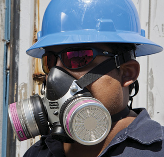 respiratory protection for construction workers