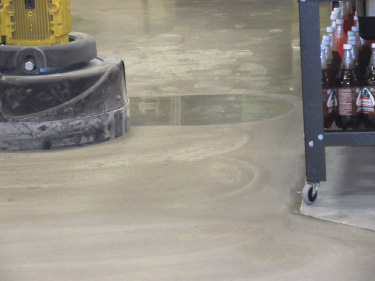 Refreshing a retail space is just now becoming widespread in the polished concrete industry.