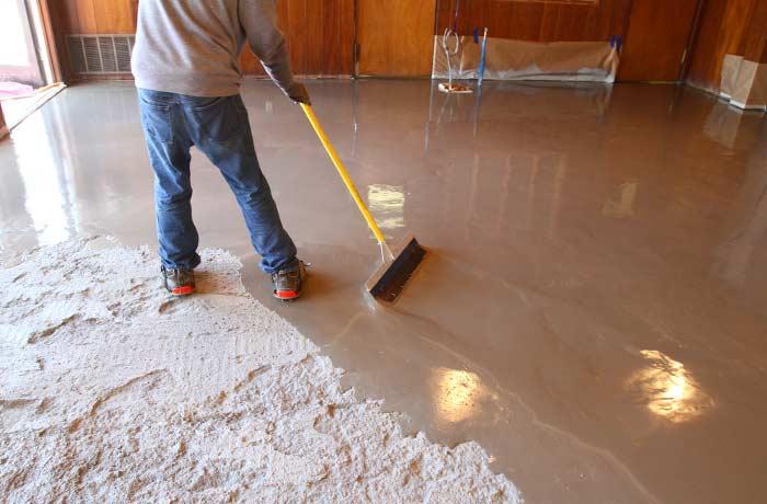 Self Leveling Concrete To Provide Sharp