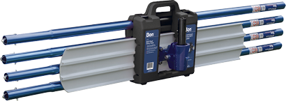 Bon Tool debuted a heavy-duty PVC Bull Float Carrying Case which holds one 8-inch bull float or channel float with a bracket attached and four handles
