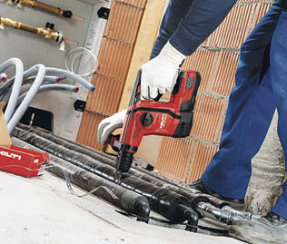 the new Hilti cordless rotary hammer drill TE 6-A22 is made for speed